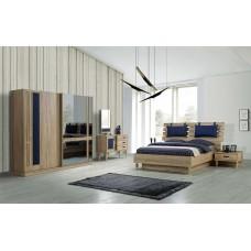 8010 Riga Meşe yatak odası tk/bedroom meşe