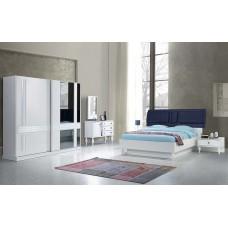 8020 İmza Beyaz yatak odası tk/beyaz