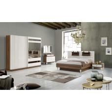 8130 Pınar Ceviz Aytaşı yatak odası tk.